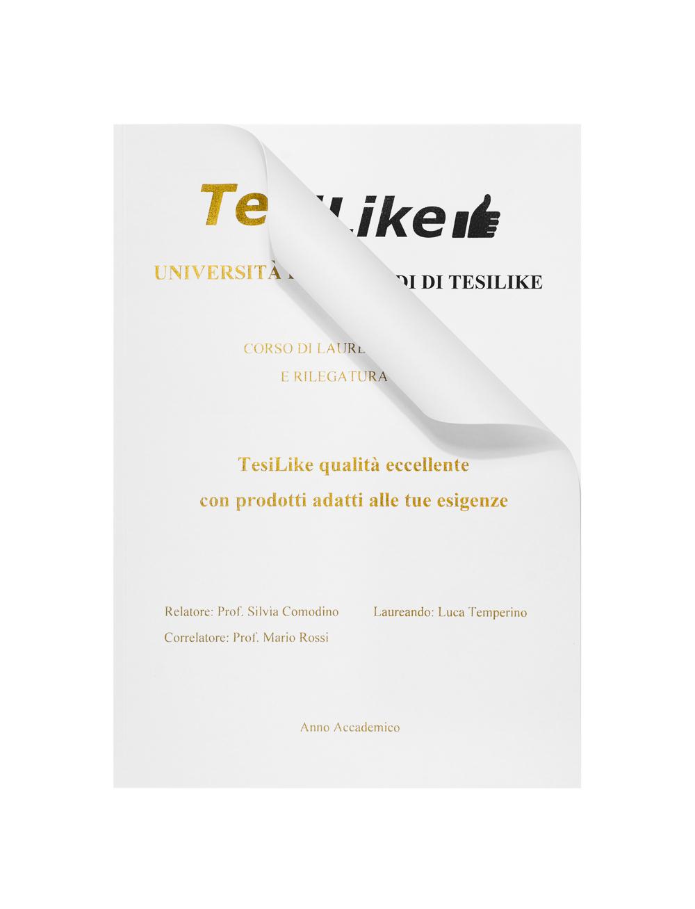 copertina-tesi-flessibile-bianca-frontespizio-oro-dettaglio-tesilike
