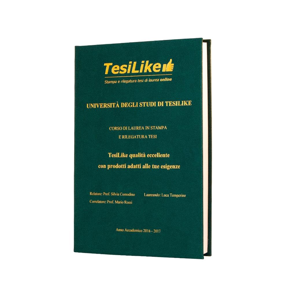 copertina-tesi-morbida-verde-frontespizio-oro-tesilike